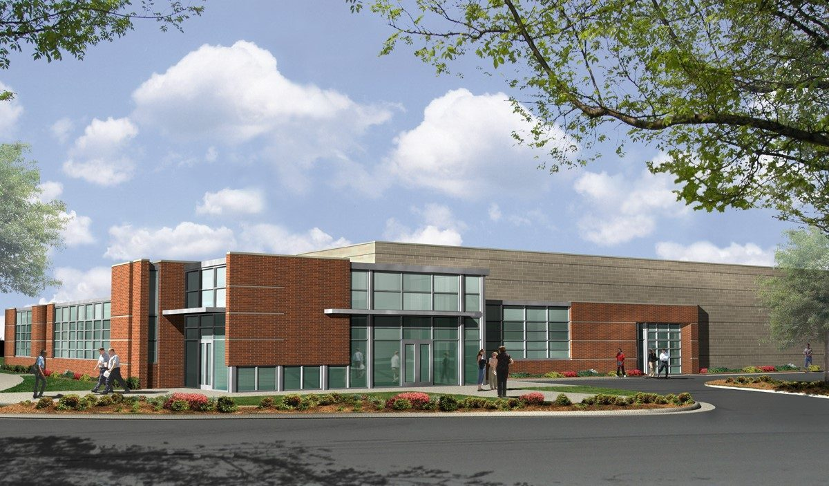 CPCC Levine Campus Joe Hendrick Automotive Technology Center